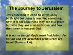 the journey to jerusalem79