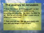 the journey to jerusalem81