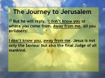 the journey to jerusalem83