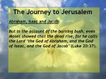 the journey to jerusalem93