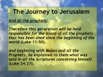 the journey to jerusalem98