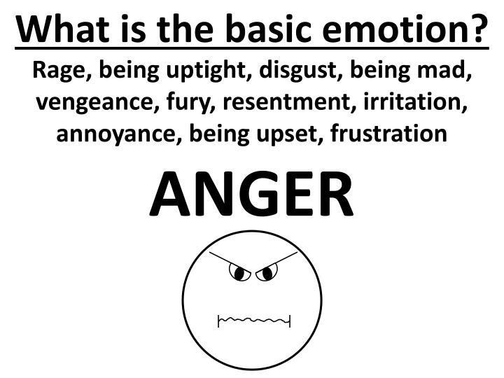 what is the basic emotion n.