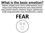 what is the basic emotion1