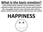what is the basic emotion3