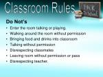 classroom rules1
