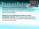 rituals and routines1