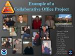 example of a collaborative office project