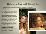 helena in love with demetrius