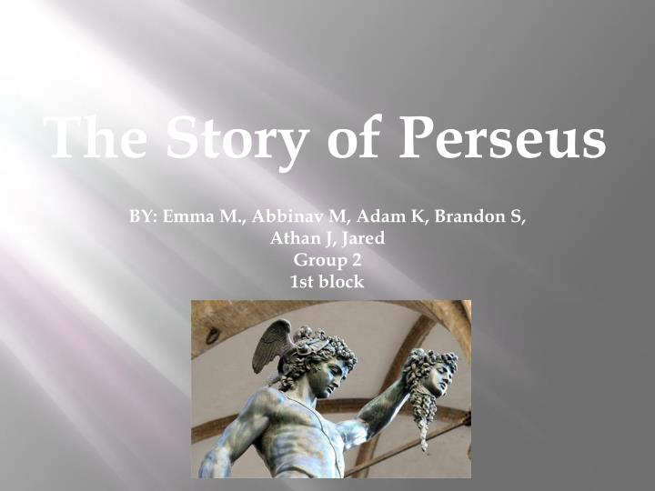 the story of perseus n.