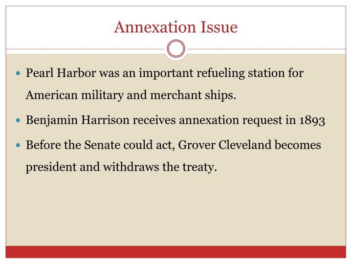 Annexation Issue