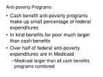 anti poverty programs1
