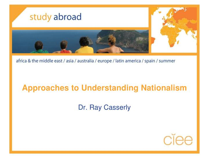 approaches to understanding nationalism n.