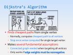 dijkstra s algorithm