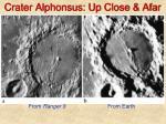 crater alphonsus up close afar