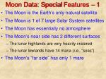 moon data special features 1