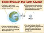tidal effects on the earth moon
