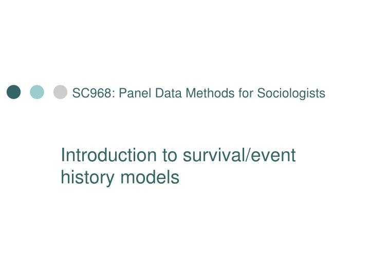 sc968 panel data methods for sociologists n.