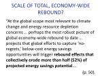 scale of total economy wide rebound1