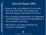 biennial report br