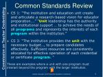 common standards review3