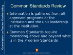 common standards review4