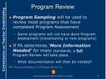 program review1