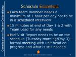 schedule essentials1