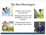 the best messengers
