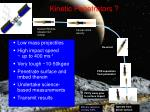 kinetic penetrators