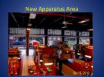 new apparatus area