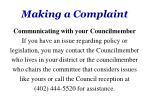 making a complaint2