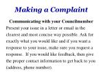 making a complaint3