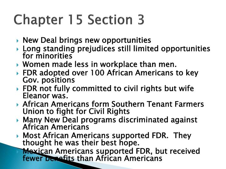 chapter 15 section 3 n.