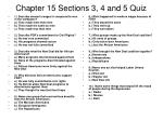 chapter 15 sections 3 4 and 5 quiz