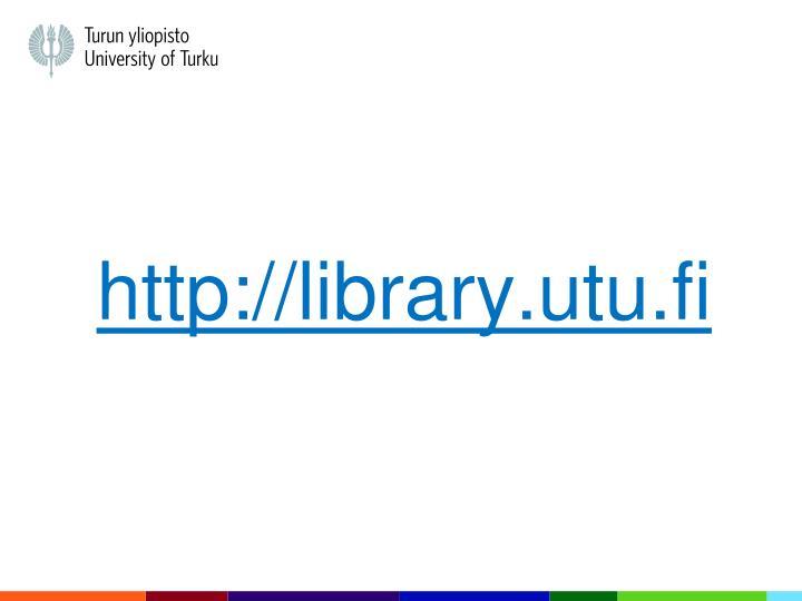 Http library utu fi