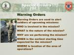 special orders3
