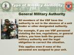 type of military authority1