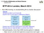 ietf 89 in london march 2014