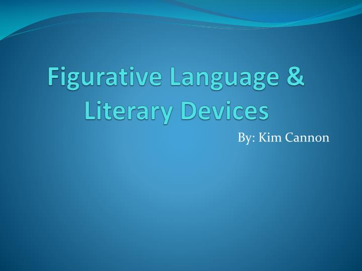 figurative language literary devices n.