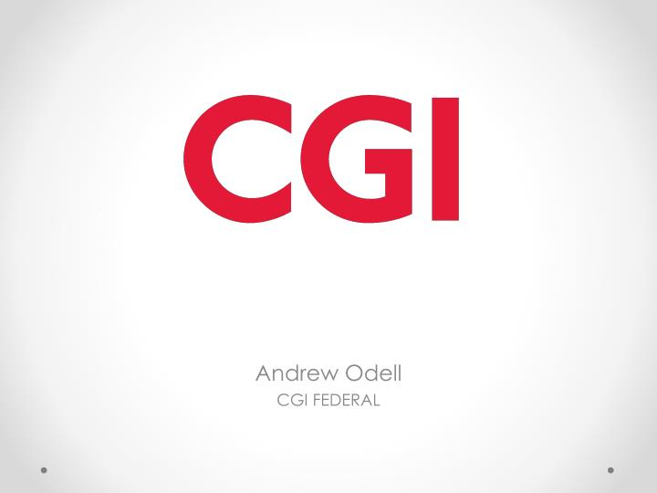 andrew odell cgi federal n.
