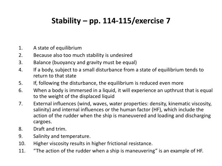 stability pp 114 115 exercise 7 n.