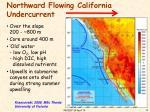 northward flowing california undercurrent