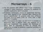 microarrays 6