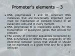 promoter s elements 3