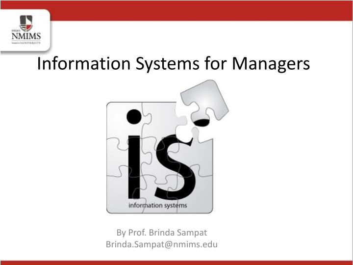 information systems for managers n.