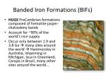 banded iron formations bifs