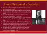henri becquerel s discovery
