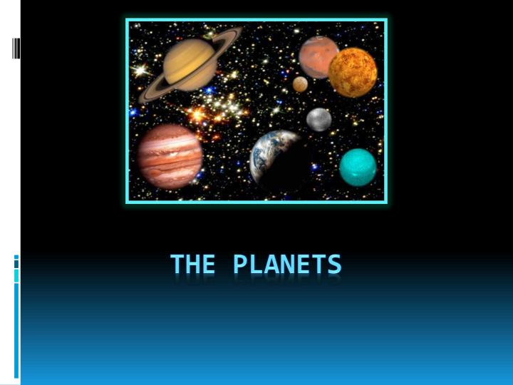 the planets n.