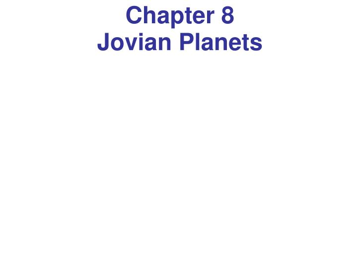 chapter 8 jovian planets n.