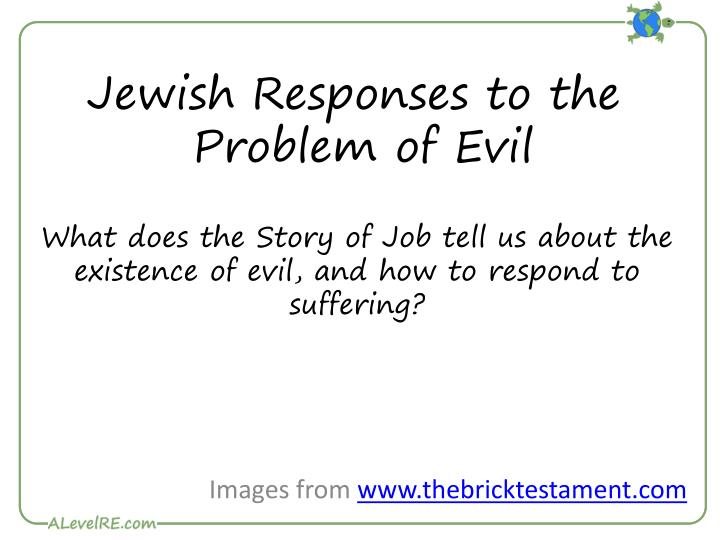 jewish responses to the problem of evil n.